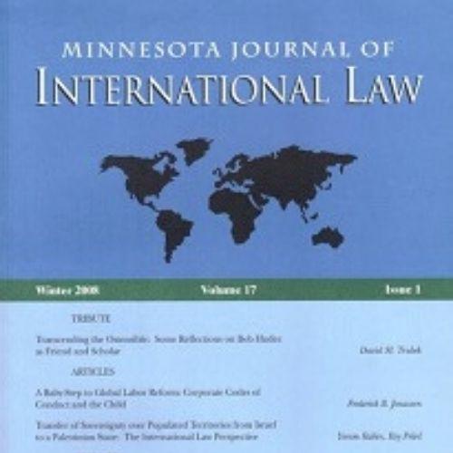 Minnesota Journal of International Law