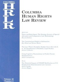 Roy Peled & Yoram Rabin, The Constitutional Right to Information, 42 Columbia Human Rights Law Review 357 (2011).