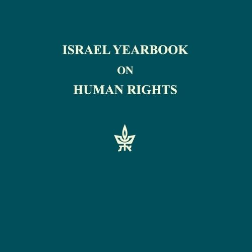 Israel yearbook on hubman rights